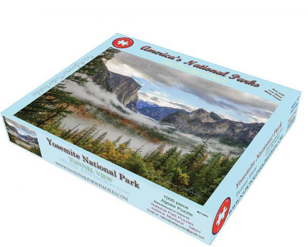 Yosemite National Park Tunnel View box